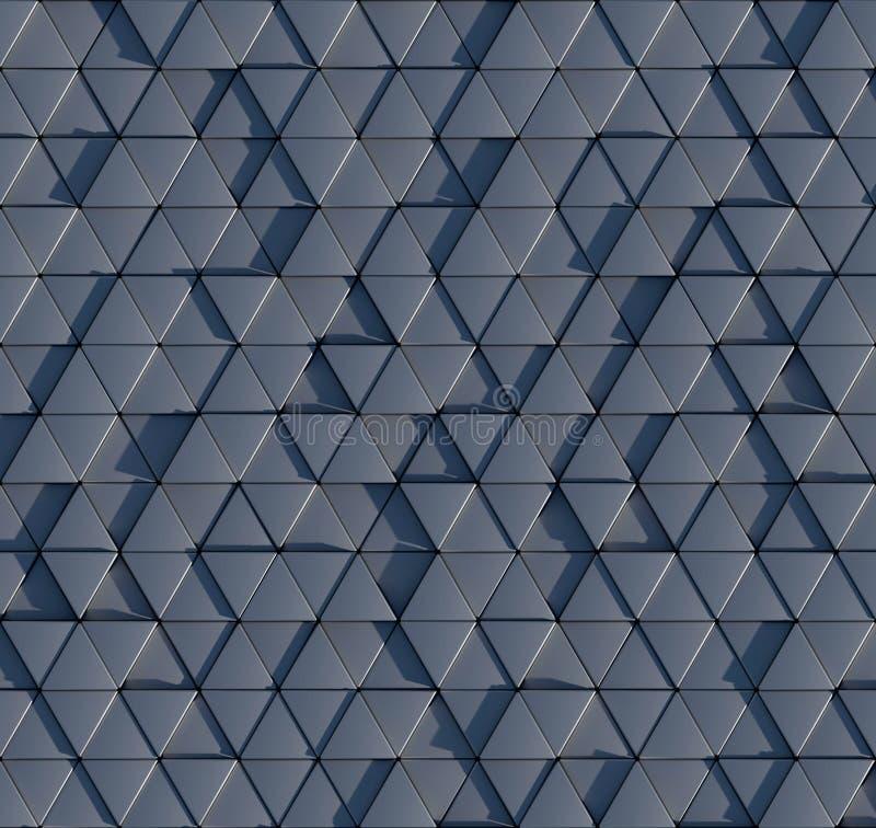 3D三棱柱样式 库存例证