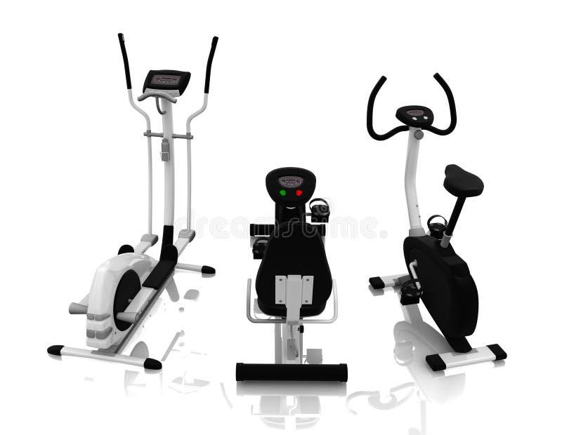 健身设备 向量例证