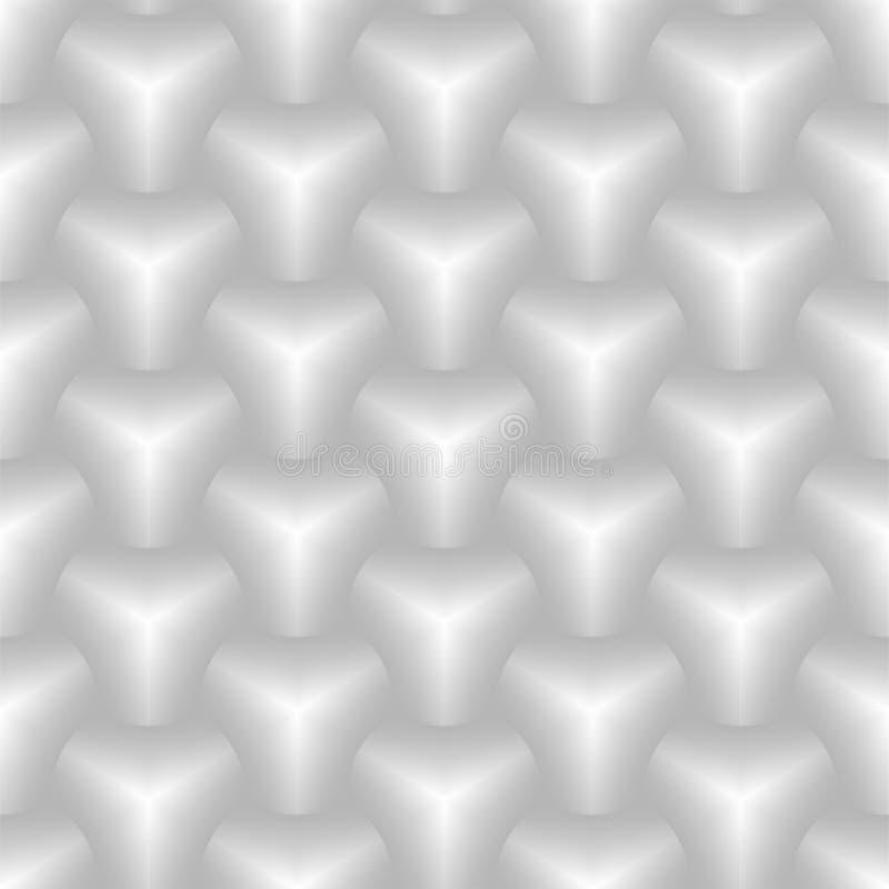 3d六角形瓦片装饰和设计瓦片的砖样式 库存例证