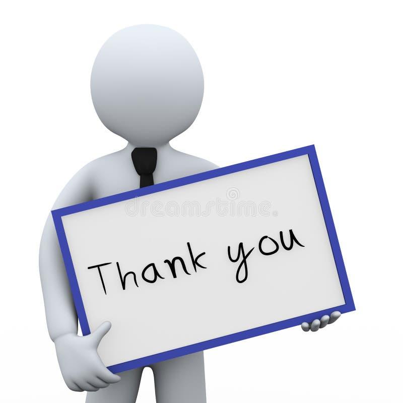 Download 3d商人和感谢您上 库存例证. 插画 包括有 确信, 信息, 信函, 电话会议, 人力, 字符, 会议室 - 30335161