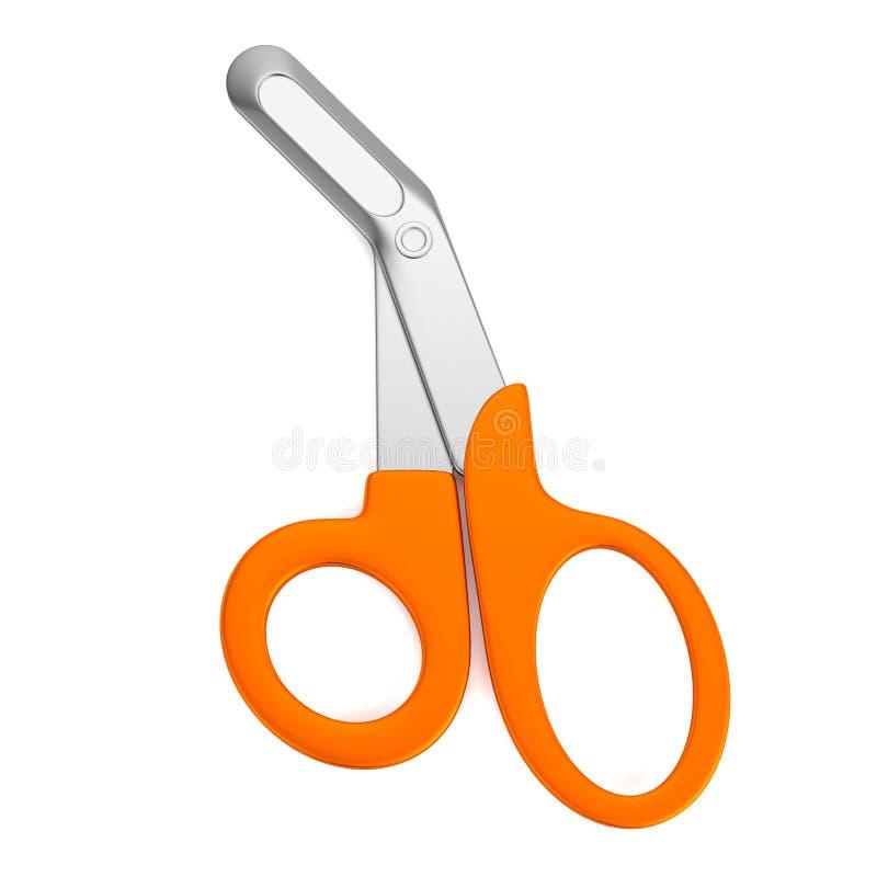 3d回报剪刀 向量例证