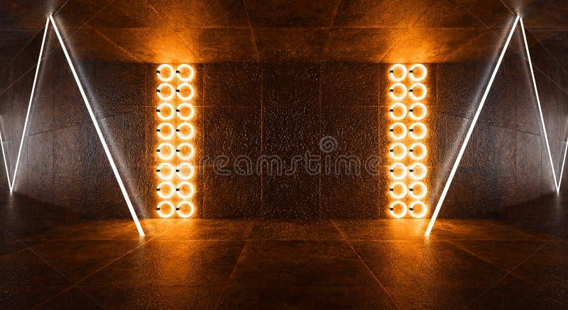 3d回报,抽象背景,隧道,霓虹灯,虚拟现实,曲拱,桃红色蓝色,充满活力的颜色,激光展示,隔绝在bla 图库摄影