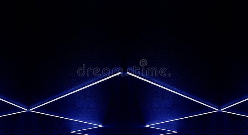 3d回报,抽象背景,隧道,霓虹灯,虚拟现实,曲拱,桃红色蓝色,充满活力的颜色,激光展示,隔绝在bla 库存照片