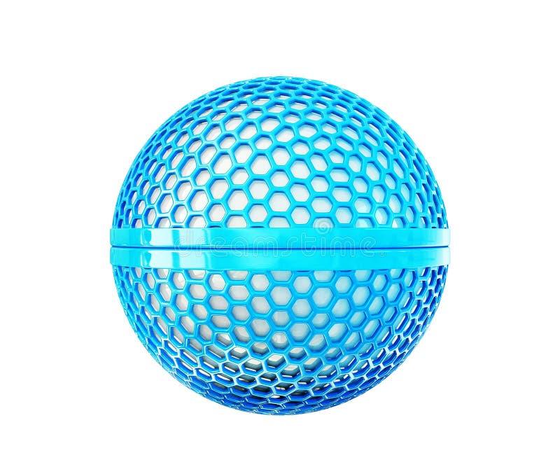 球形 库存例证