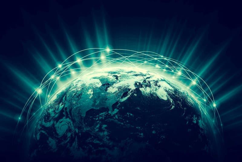 3d地球展望期线路回报了空间 最佳的企业概念概念全球