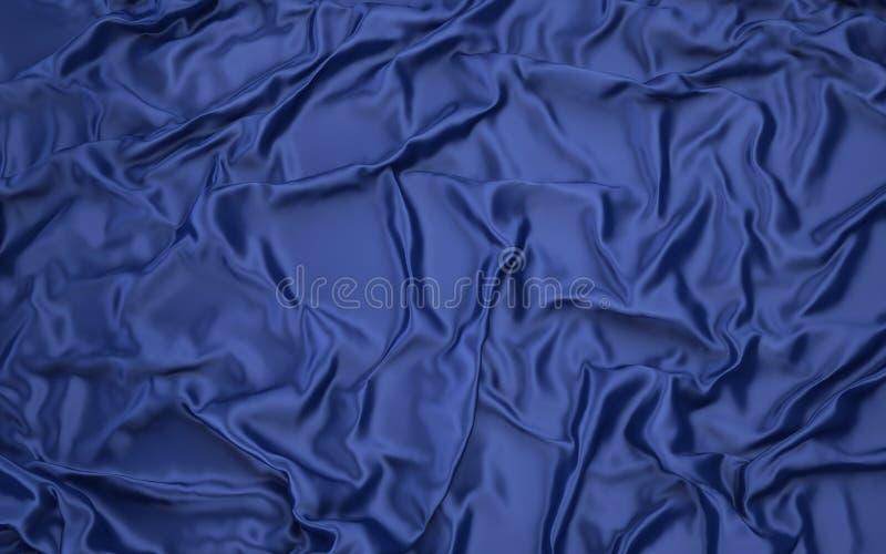 3d布料,抽象织品背景 向量例证