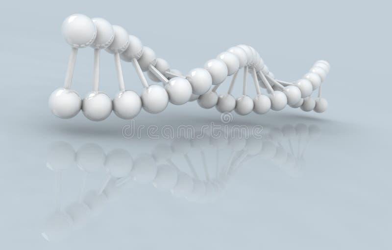 3d应用脱氧核糖核酸生成了高图象设计解决方法 向量例证