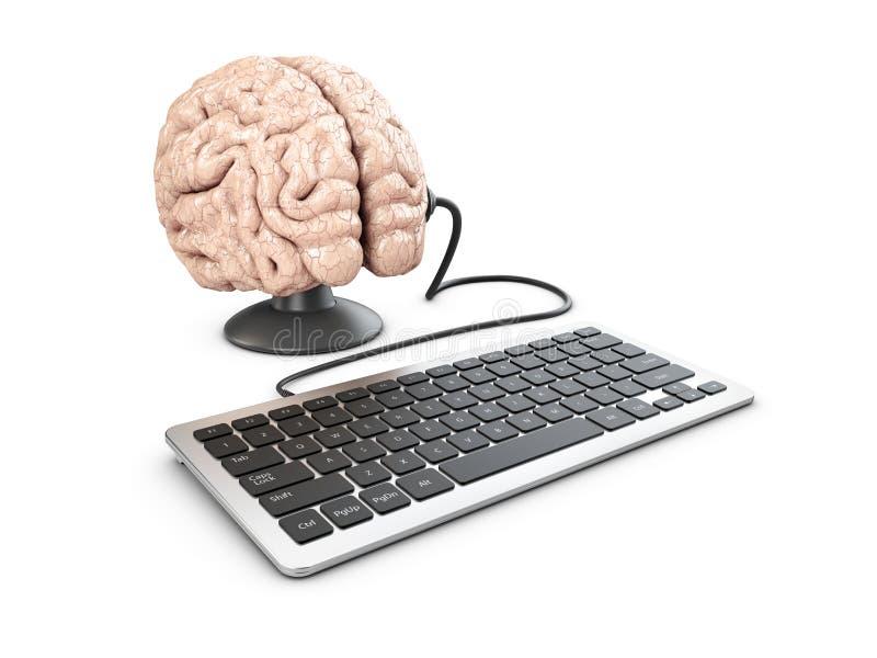 3d心理控制和宣传概念的例证 库存例证
