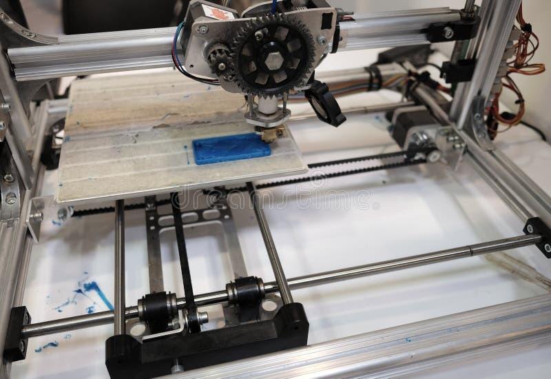 3d打印机原型 免版税库存照片