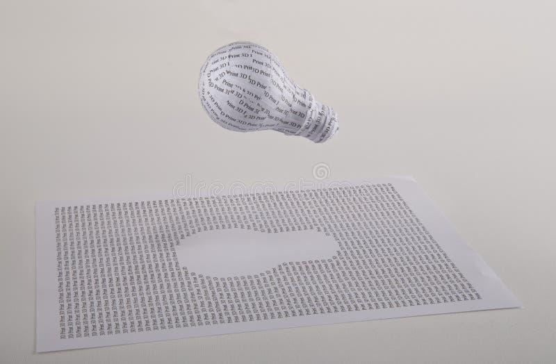 3D打印 免版税库存照片