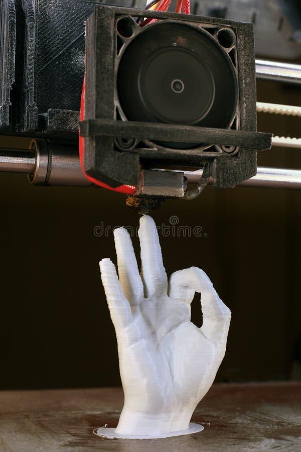 3D打印 免版税库存图片