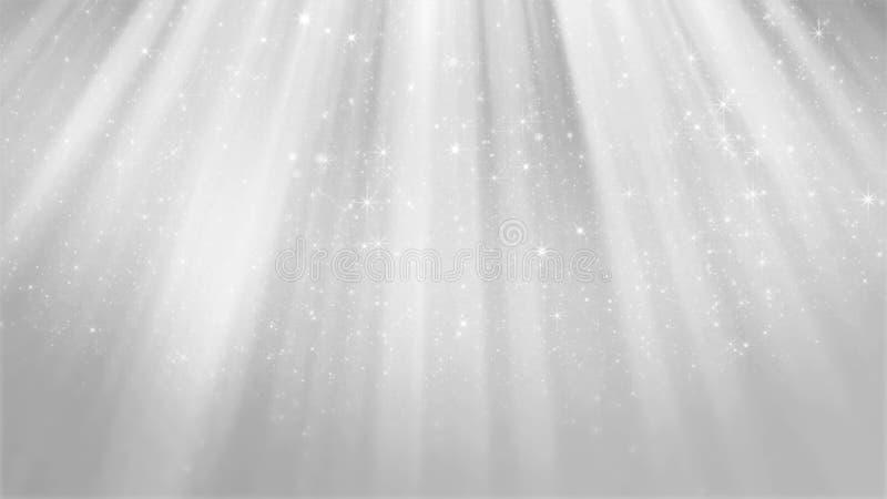3D抽象发光的银色背景翻译  皇族释放例证