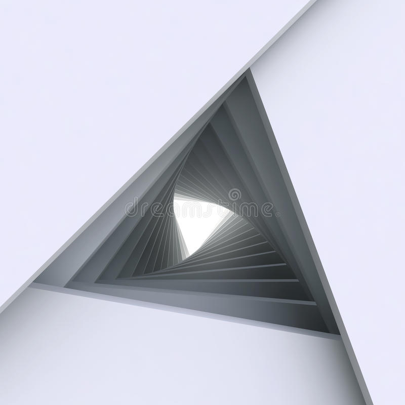 3d摘要建筑学背景 向量例证