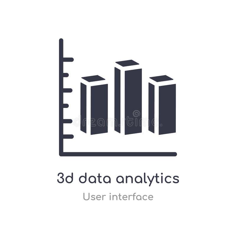 3d数据逻辑分析方法双重酒吧概述象 r r 库存例证
