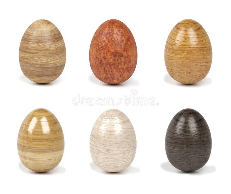 3d木鸡蛋 图库摄影