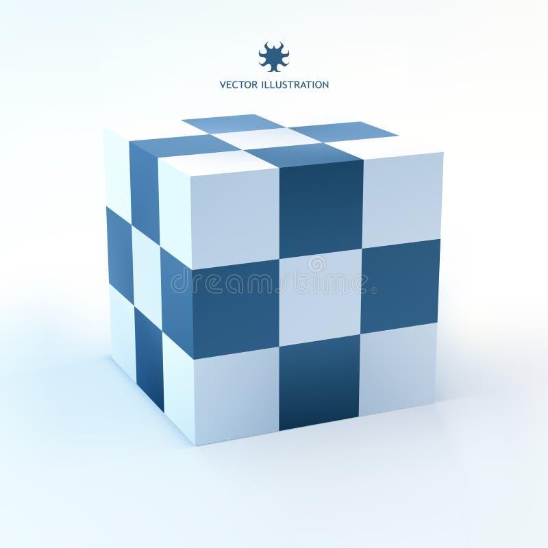 3D概念例证 向量例证