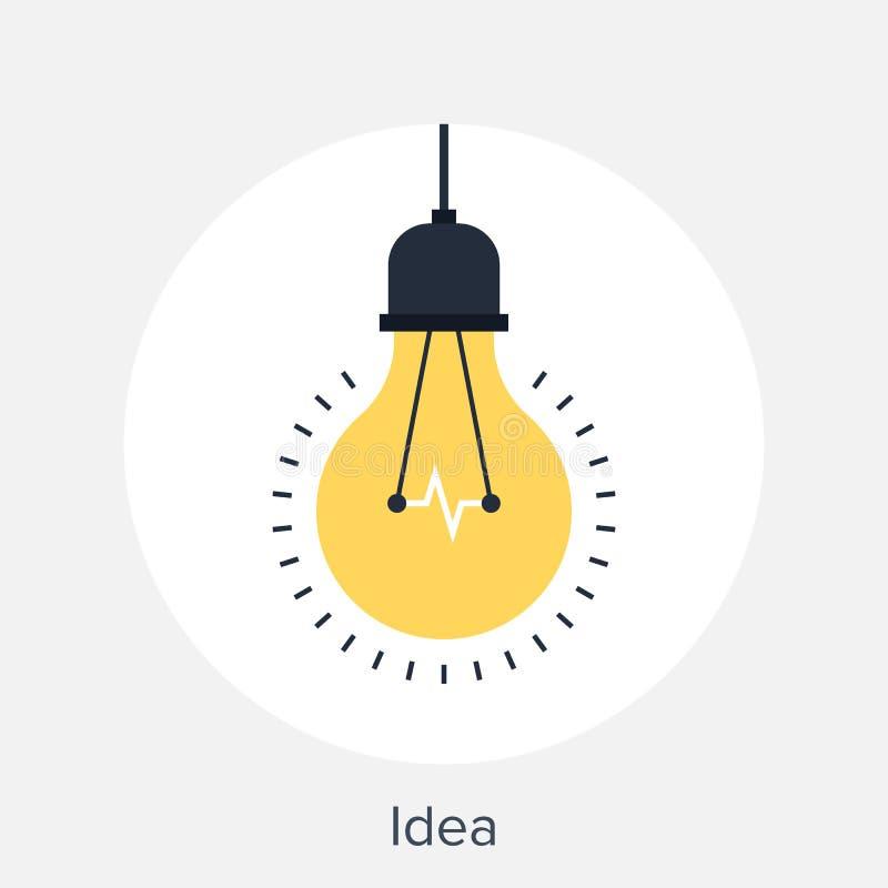 3d概念想法图象回报了 库存例证