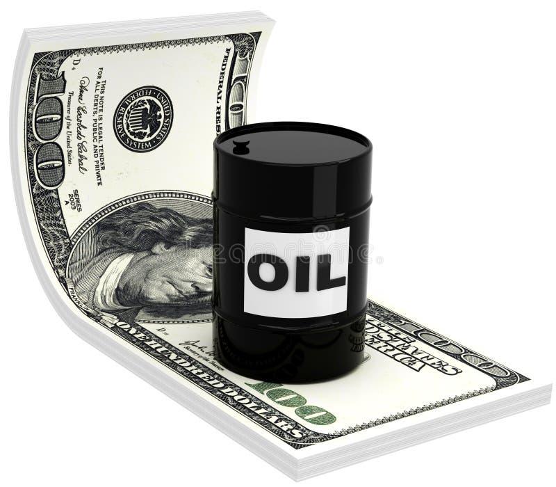3D油桶 向量例证