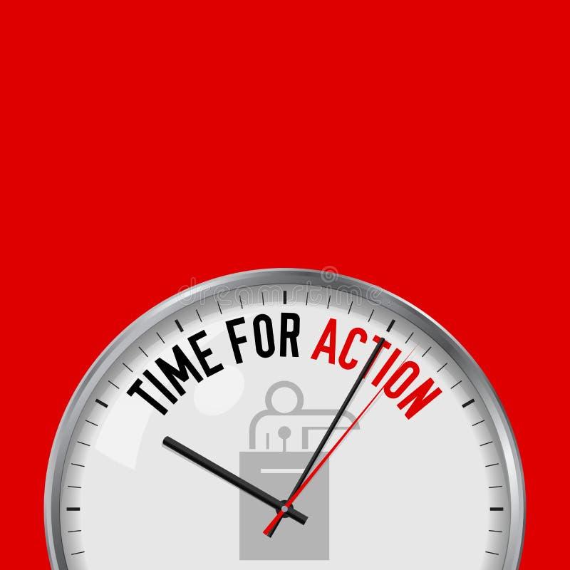 3d活动背景镜象查出秒表时间白色 有诱导口号的白色传染媒介时钟 模式金属手表 政客,政府发言人象 皇族释放例证