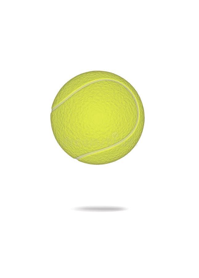 3d球网球 库存图片