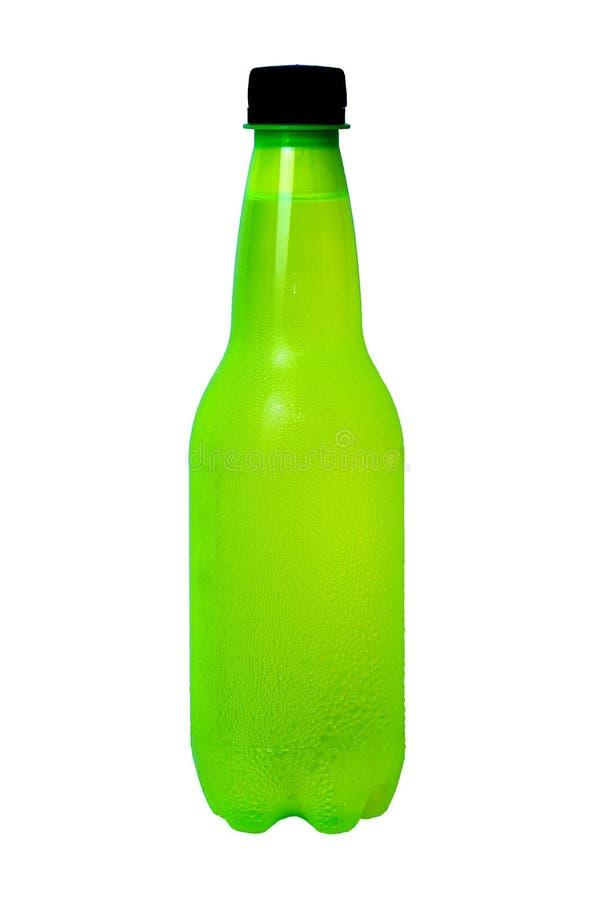 3d瓶设计塑料白色 免版税库存照片