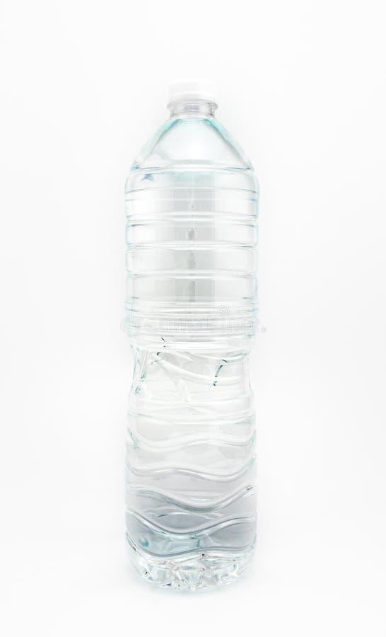 3d瓶设计塑料白色 库存图片