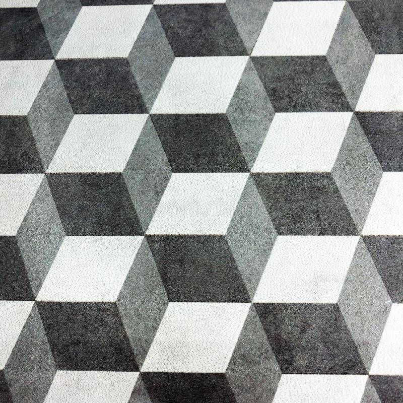 3d立方体 3D正方形背景 免版税图库摄影