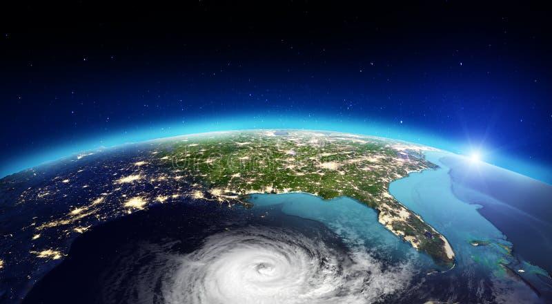 3d美国礼貌旋风地球地球映射美国航空航天局回报 3d翻译