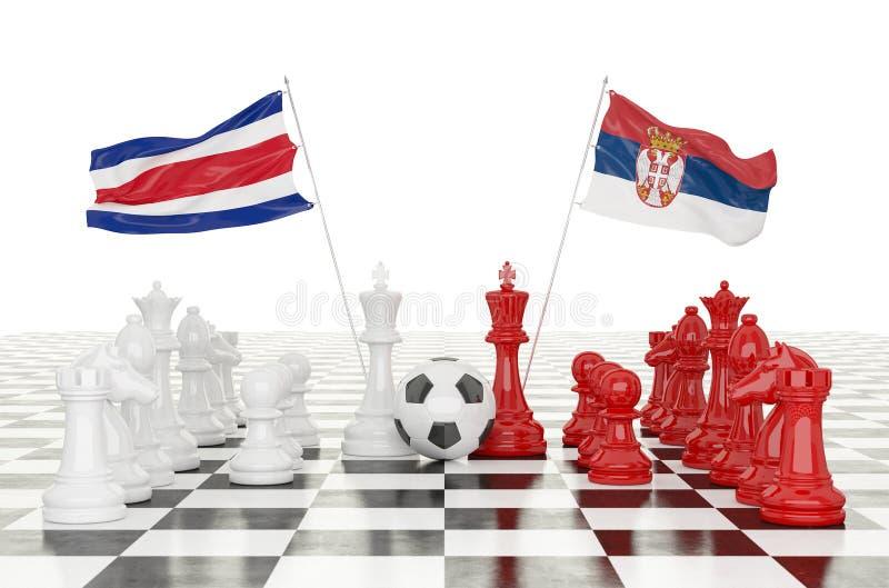 3D翻译足球杯子2018年 皇族释放例证
