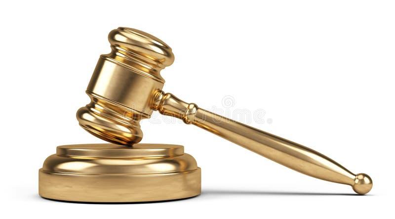 3d背景概念例证查出的法律回报了白色 库存例证