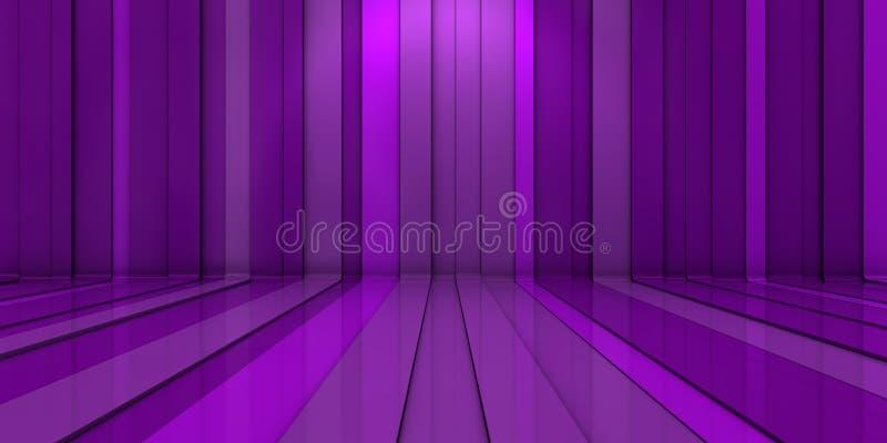 3d背景紫色 免版税图库摄影