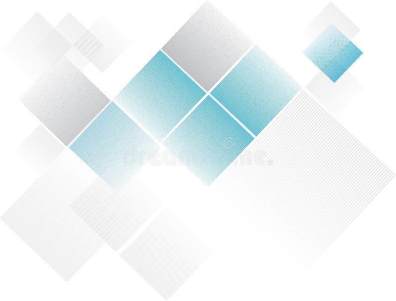 3d被回报的背景蓝色金刚石金刚石例证红色反映 库存照片