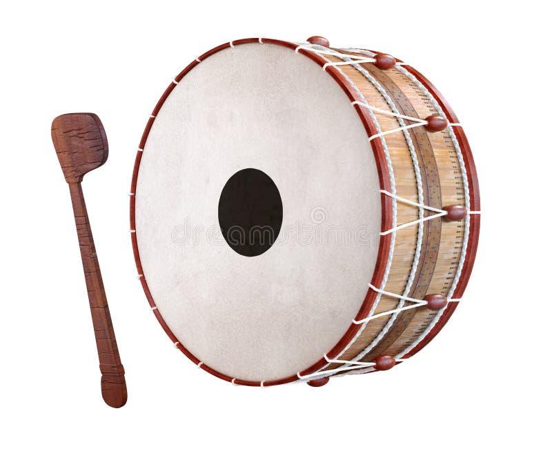 3D被回报的赖买丹月鼓 免版税图库摄影