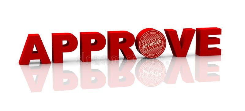 3d词批准与不加考虑表赞同的人 向量例证