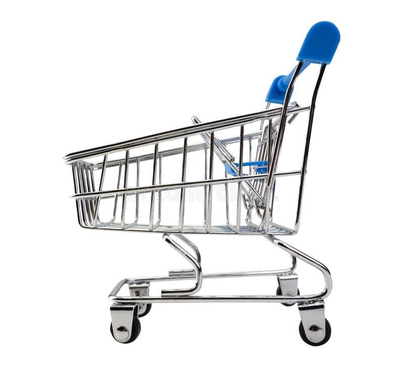3d购物车被生成的图象购物 这有裁减路线 皇族释放例证