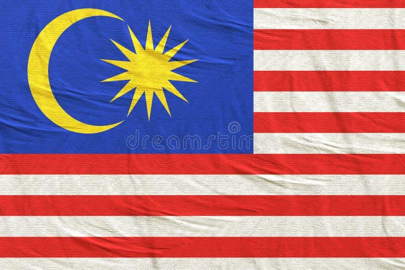 3d马来西亚旗子翻译  库存例证