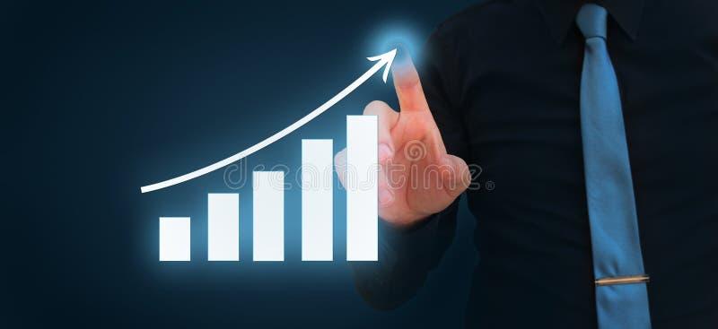 3d übertragen Börsediagramm Devisen-Wertpapiergeschäft-Internet-Technologiekonzept stockbild