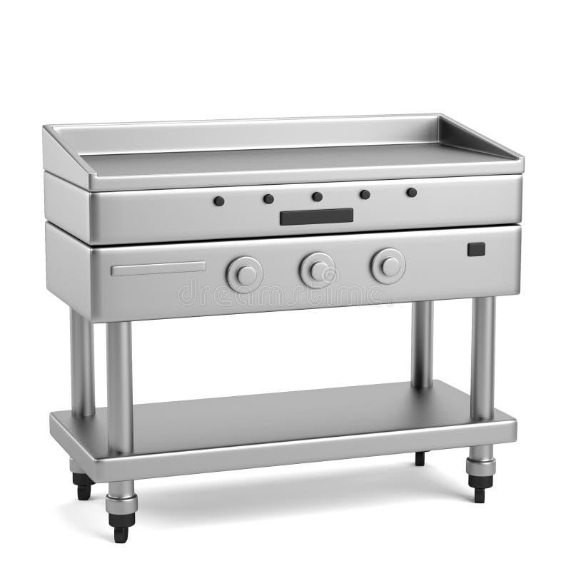 3d übertragen vom profi Küchenelement stock abbildung