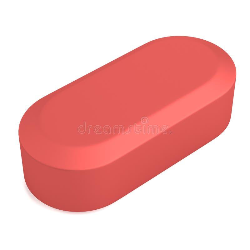 3d übertragen von der Pille stock abbildung