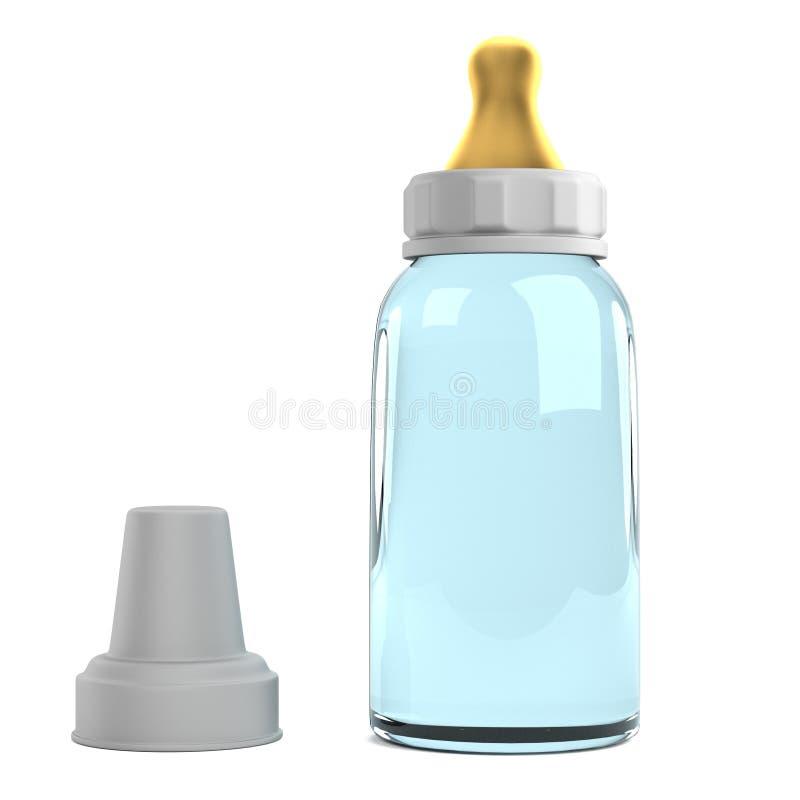 3d übertragen von der Saugflasche lizenzfreie abbildung