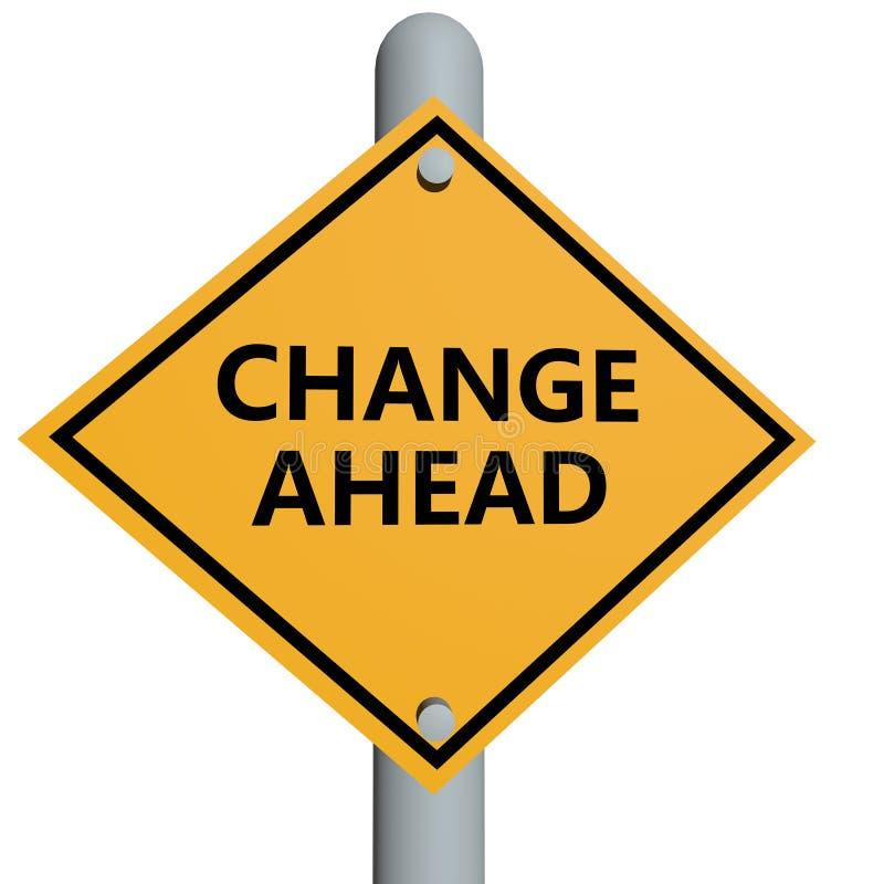 Änderung voran lizenzfreie abbildung