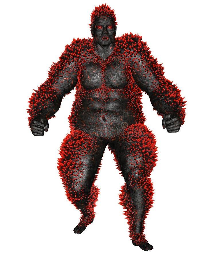 3D übertrug Monster stock abbildung