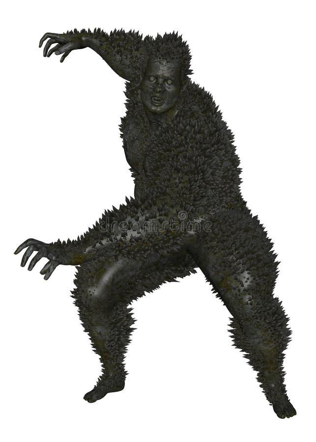 3D übertrug Monster vektor abbildung