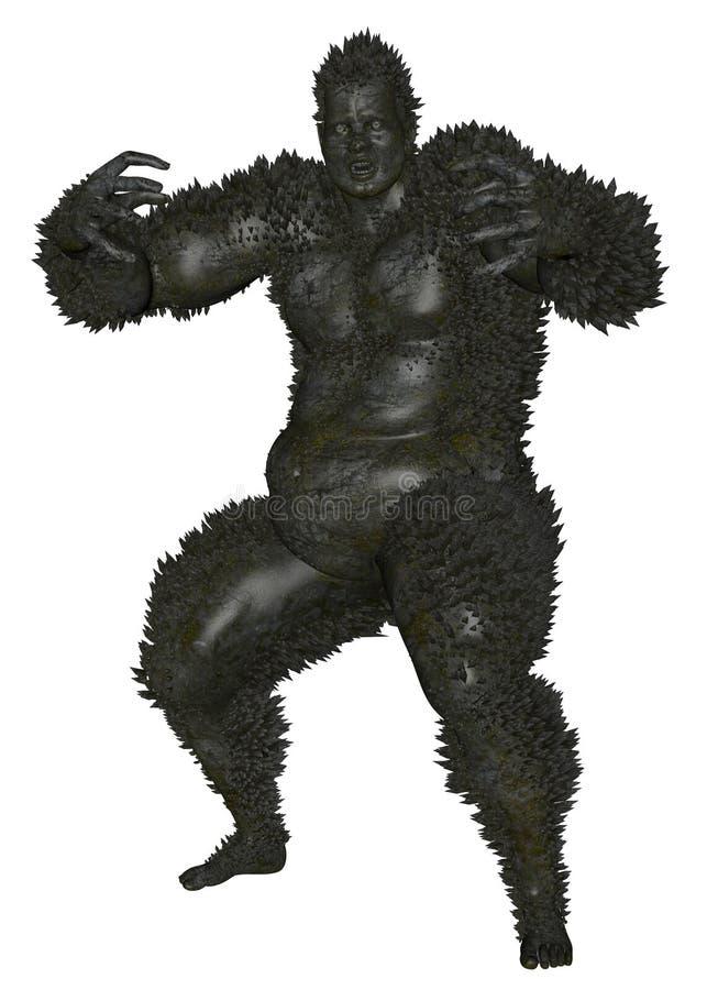 3D übertrug Monster lizenzfreie abbildung