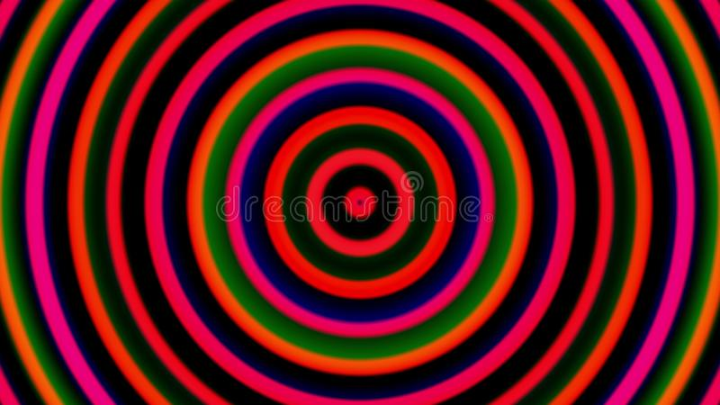 3d гипнотические спирали, завихряясь радиальная предпосылка вортекса, компьютер произвели искусство творческое иллюстрация штока