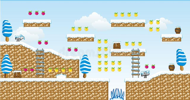 2D игра 13 платформы Tileset