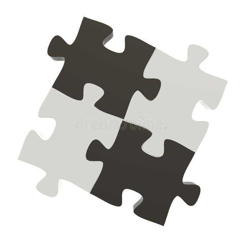 3d озадачивает партнерство бесплатная иллюстрация