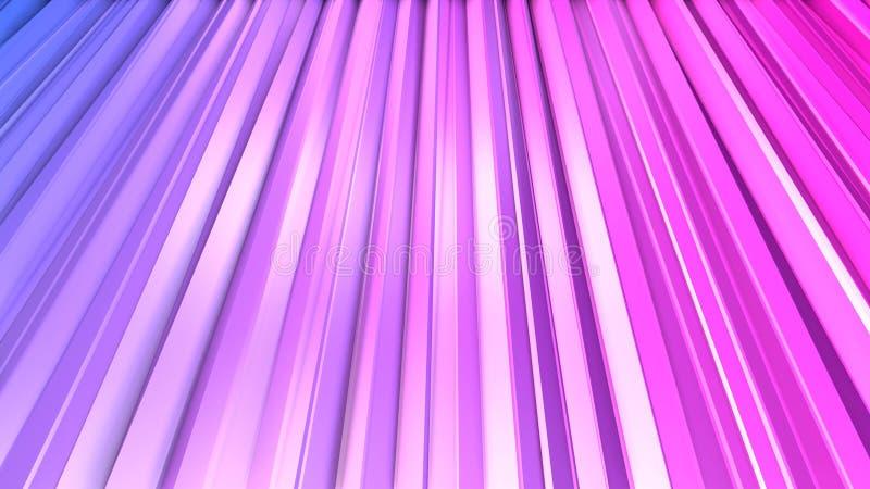 3d представляя абстрактную геометрическую предпосылку с современными цветами градиента в низком поли стиле поверхность 3d с голуб иллюстрация вектора