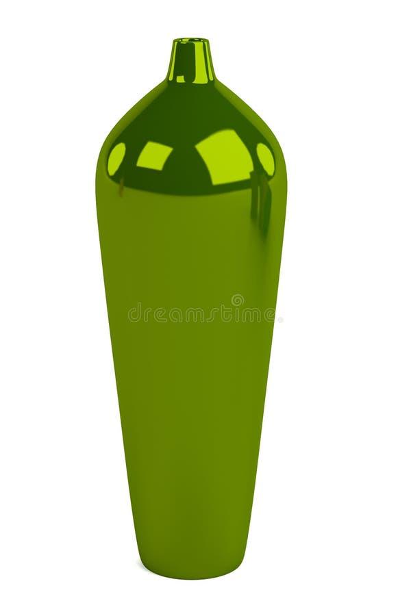 3d представляют вазы иллюстрация штока