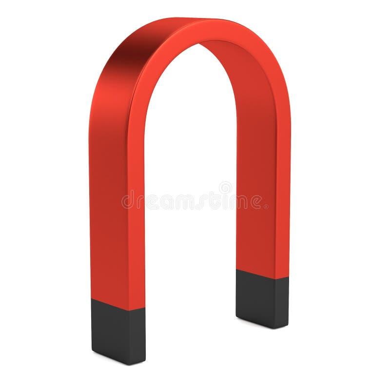 3d представляют магнита иллюстрация штока